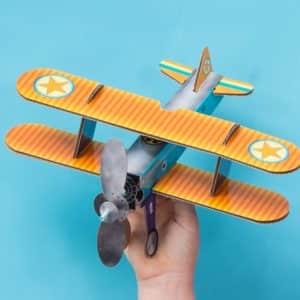 ערכה להרכבת מטוס פרופלור
