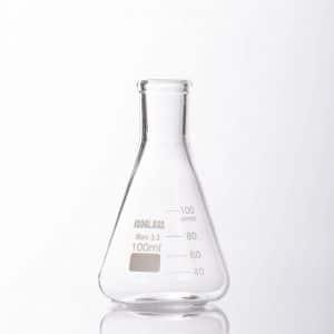 """בקבוק ארלנמאיר זכוכית 100 מ""""ל"""